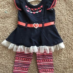 Little Lass Outfit, Size 18 Mo.